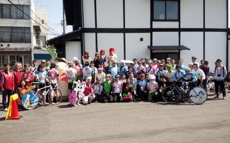 5月10日開催「なつまちサイクリング&ウォーキングスタンプラリー」