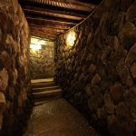 大坂城地下風温泉への洞窟